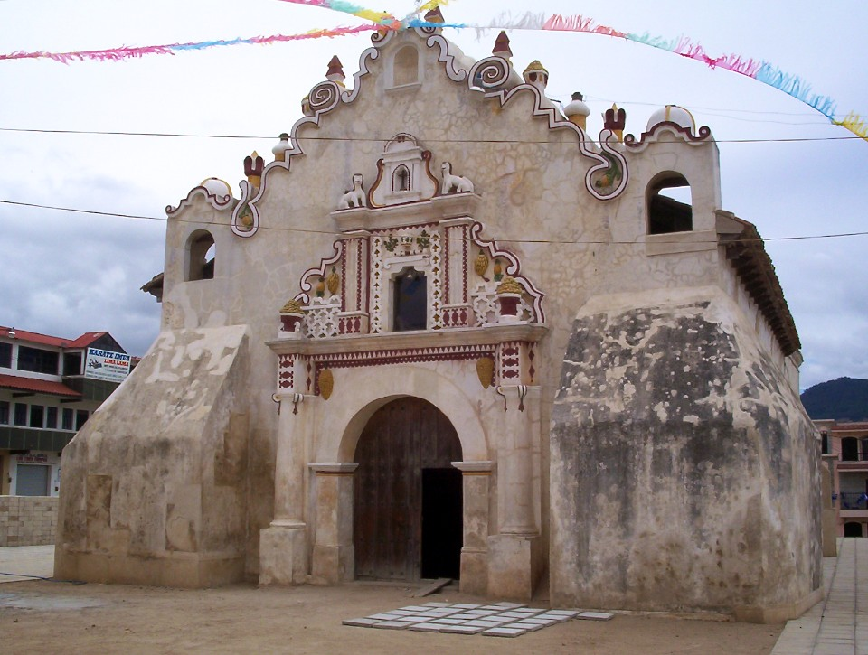 Ermita de Salcajá: First Chapel of Guatemala  by Rudy Girón